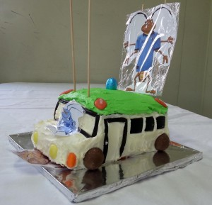 Bus Cake - Go NSW!!