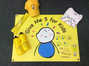 The Give Me 5 for Kids pack 2015