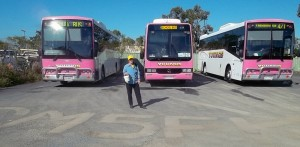 Erica promoting GM5FK at Young's Yeppoon Depot